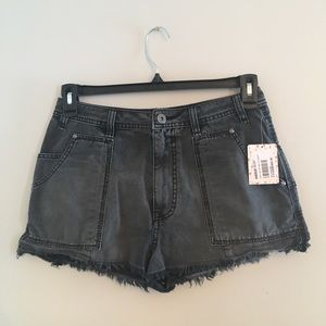 Free People Shorts - Free People Get Far Out Cuffoff Shorts
